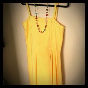Ann Taylor Loft yellow dress
